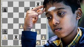 12-летний вундеркинд штурмует шахматную элиту. Рамешбабу Праггнанандхаа
