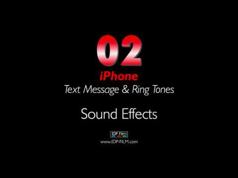 IPhone Message Sound Effects HD - MOBILE Ring Tones 02 - Text Tone
