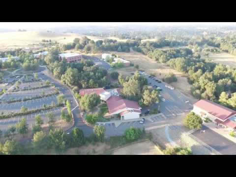 Phantom Drone Flyover Indian Creek School Placerville