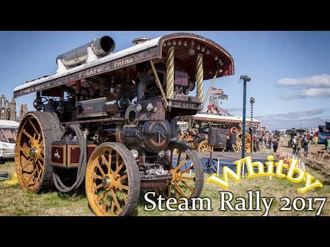 Whitby Traction Engine Rally 2017 - Friday 4th August.