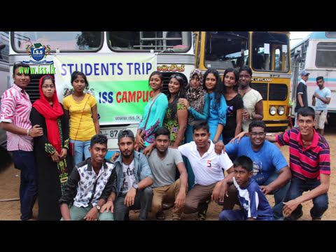 ISS CAMPUS Students Trip to Bopath Ella Water Falls