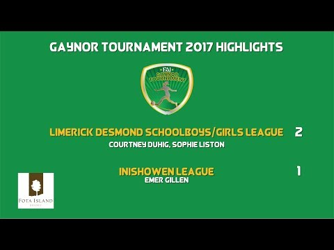 GAYNOR 17 - HIGHLIGHTS: Limerick Desmond 2-1 Inishowen