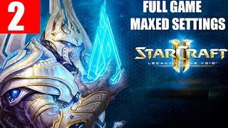 StarCraft 2 Legacy of the Void Walkthrough Part 2 Full Campaign HD Ultra Gameplay - For Aiur