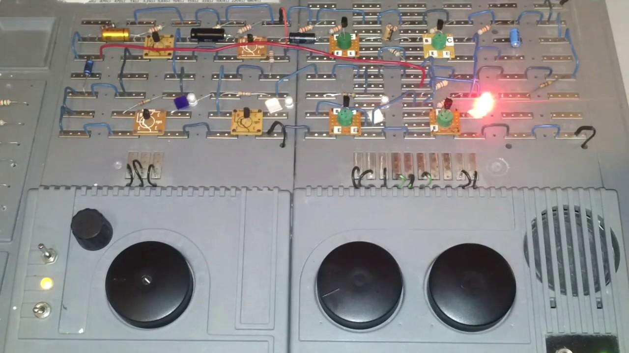 4 kanal led lauflicht mit 8 transistoren youtube for Koch 4 kanal led funkfernsteuerung