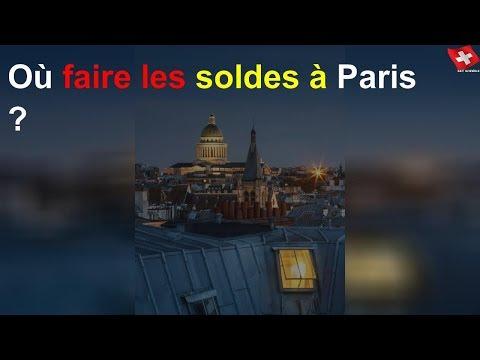 Où Faire Les Soldes à Paris ?