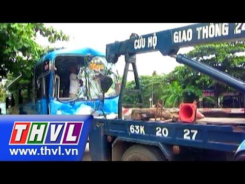 THVL | Hàng loạt xe tông liên hoàn tại Tiền Giang