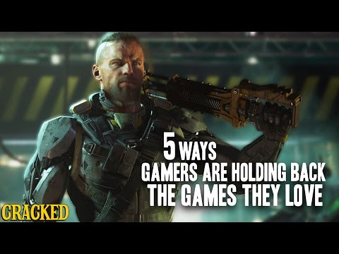 5 Ways Gamers Are Holding Back The Games They Love