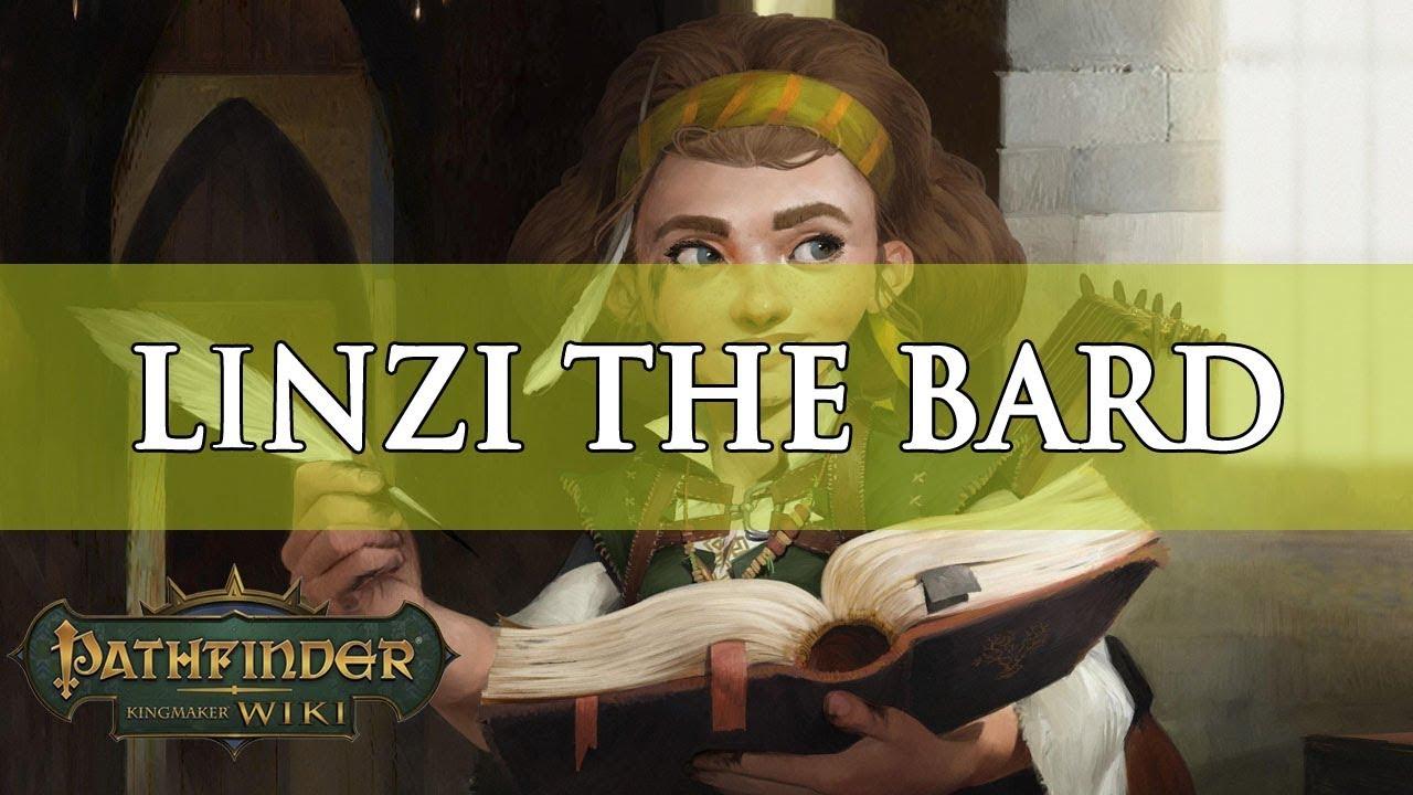 Pathfinder Kingmaker Builds: Linzi the Bard | Fextralife