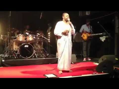 """Calypso Rose""""Fire in me wire""""( part1) live@Petit Bain Paris May 26th 2012"""