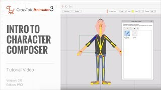 CrazyTalk Animator 3 Tutorial - Intro to Character Composer