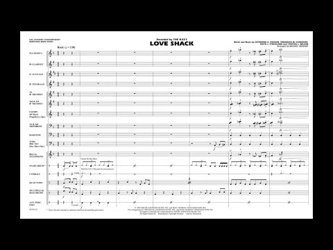 Love Shack arranged  Michael Sweeney