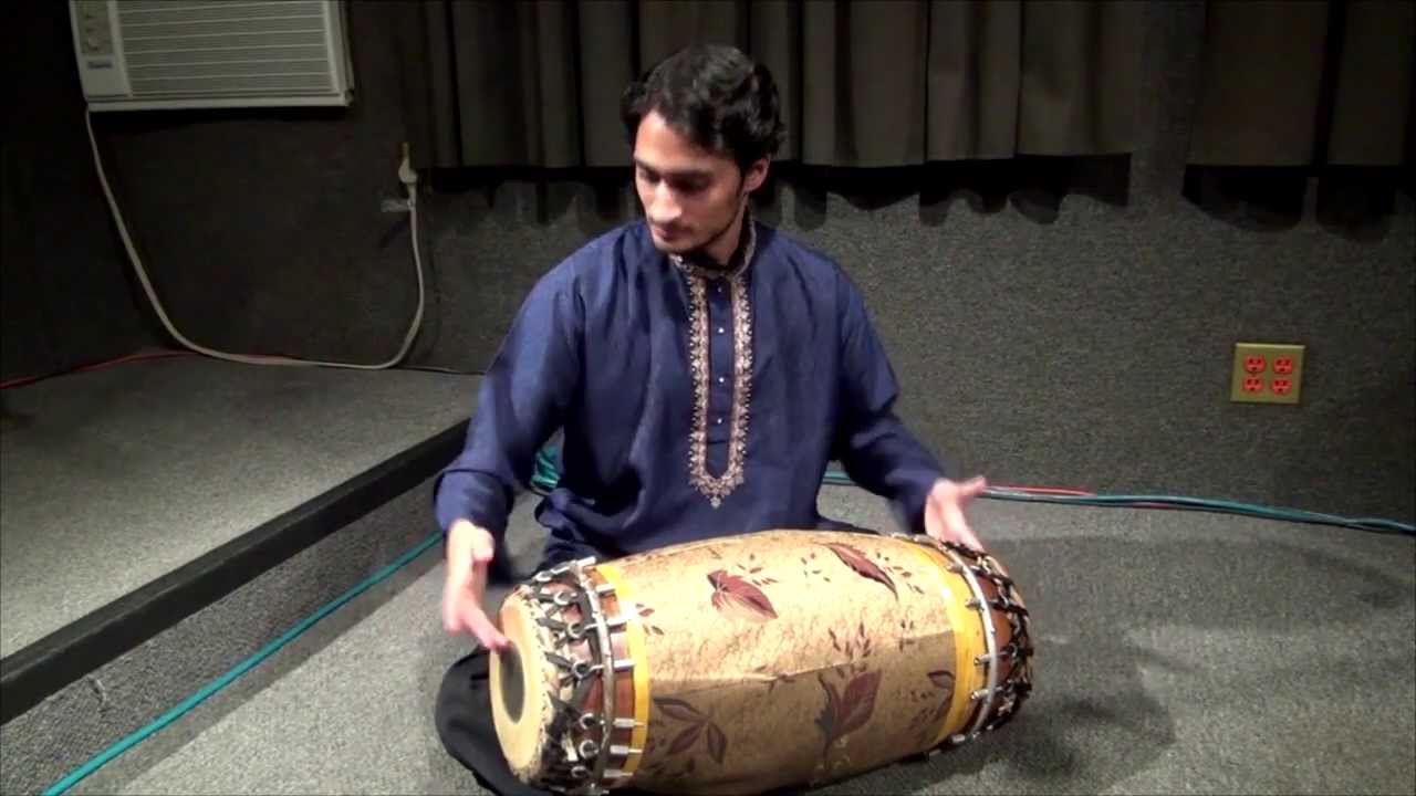 Mridangam Rhythm Exercise with Dr. Rohan Krishnamurthy