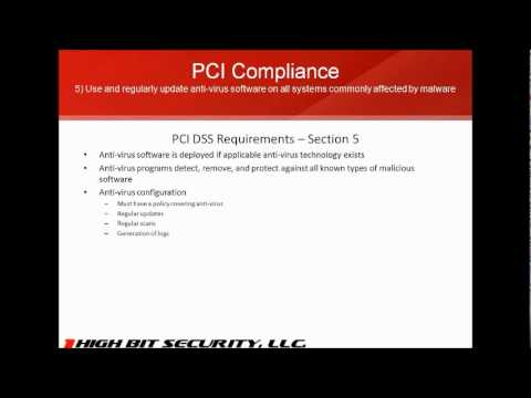 PCI Compliance: Detailed Requirements Walkthrough