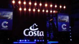 Costa Luminosa: il battesimo con Costa Pacifica