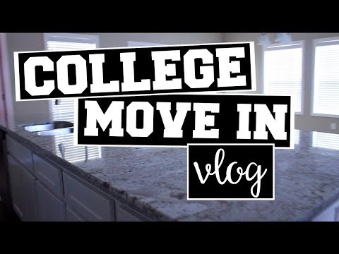 College Move In!! | Vlog