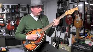 1968 Winston 431 Teardrop Guitar Demo
