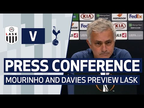 PRESS CONFERENCE   JOSE MOURINHO AND BEN DAVIES PREVIEW LASK