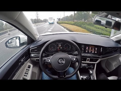 POV Drive 2019 FAW-VW Bora 1.4TSI+7DSG 150HP!