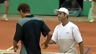 Marat Safin vs Fabrice Santoro 2001 Roland Garros R3 Highlights