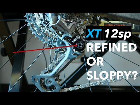 Shimano XT 12sp Groupset review - Clutch design & issues. Definitely not perfect