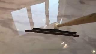 как сделать пол под мрамор своими руками