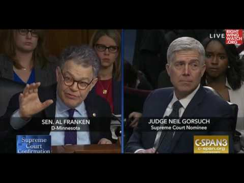 RWW News: Franken: Roberts Court Consistently Favors Corporations Over Employees, Consumers