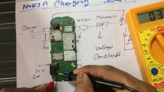 CHIP LEVEL MOBILE REPAIRING  HINDI-हिंदी 2017.HOW TO REPAIR ALL NOKIA MOBILE NOT CHARGING SOLUTION