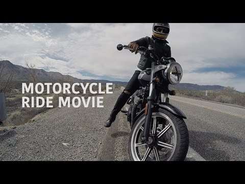 Motorcycle Ride Movie: One day trip from San Diego to Julian, Salton Sea and Salvation Mountain.