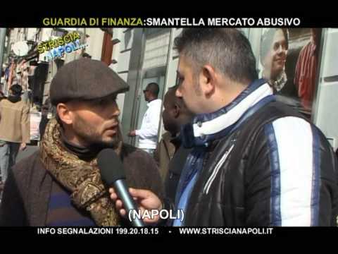 Striscia  Napoli - Guardia Di Finanza