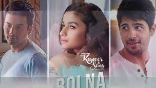 Bolna Instrumental | Shrikant Sonawane | Arijit Singh | Kapoor & Sons