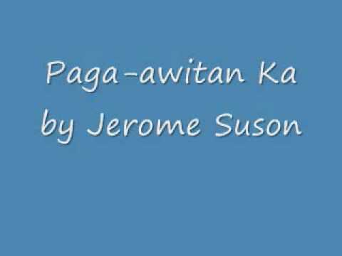 Paga-awitan by Jerome Suson