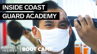 What New Coast Guard Swabs Go Through On Their First Day At The Academy   Boot Camp