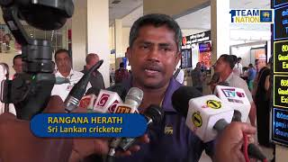 Rangana Herath arrived in the country - the most successful left-arm bowler in test history