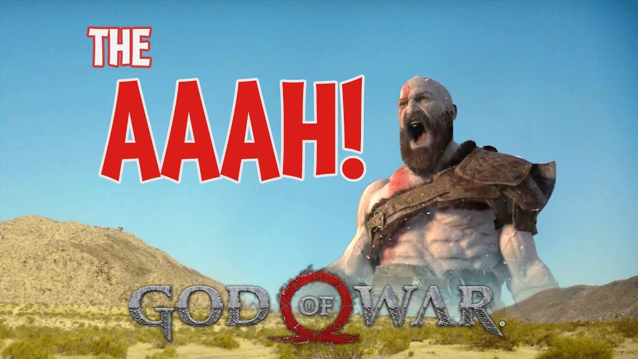 #GodofWar #Meme GodofWar - BIG ENOUGH - THE AAAH! Meme ...