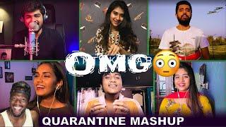 Download Quarantine Mashup | Antakshari | Joshua Aaron ft Nithyashree, Srinisha, Aajeedh, Ahmed (REACTION)