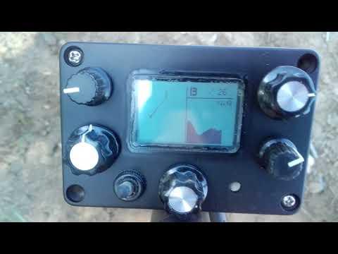 DIY metal detector IRSL - VDI target identification test