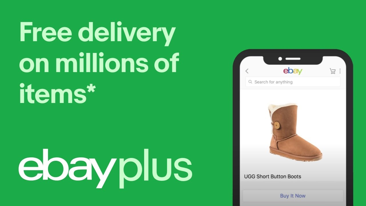 eBay Plus | Free Express Metro Delivery 15""