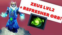 ZEUS MIT REFRESHER ORB + RAZOR LVL 3! ► DOTA 2 AUTO CHESS
