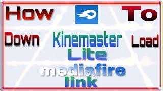 How to download kinemaster lite v6 mod apk|Tricky boy|