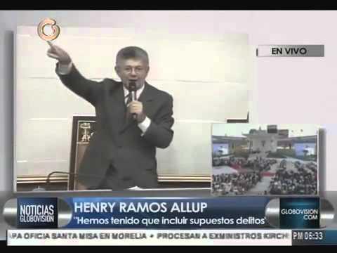 El explosivo discurso de Ramos Allup sobre la Ley de Amnistía