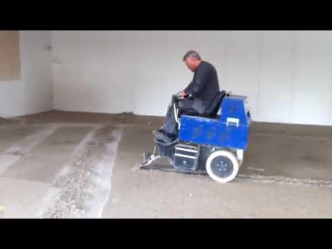 Video - Aftagning af epoxy stentæppe