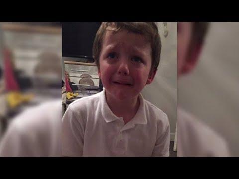 Die Mutter möchte ihren Sohn bestrafen: Das Bild geht sofort viral