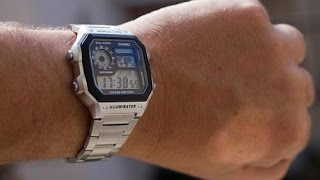 Reloj Casio AE-1200WHD 1AVEF Casio Royale watch Unboxing Review AE-1200WHD-1AVEF AE1200WHD