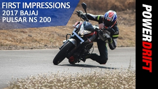 All you need to know : 2017 Bajaj Pulsar NS 200 : PowerDrift