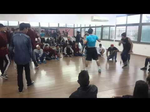 Break dance battle in Ramallah @RBC round 1