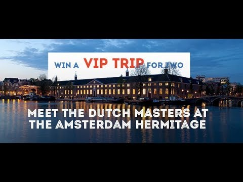 iFly TV: Susanne Wachter from Vienna won a trip to Hermitage Amsterdam