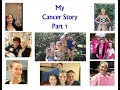 My Cancer Story Part 1 (Years Before Cancer  &  Breast Cancer years)