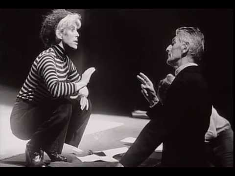 """Short clip from """"Changing Stages: Between Brecht and Beckett"""""""