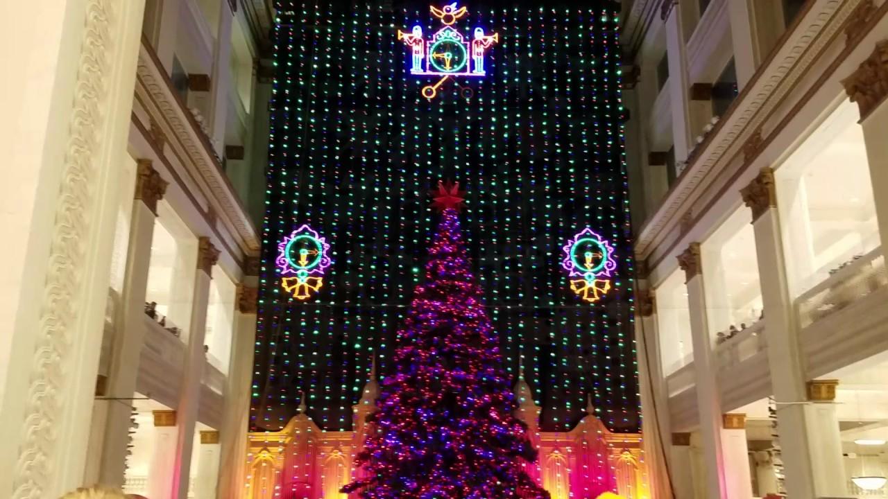 macys christmas light show philadelphiapa 121116
