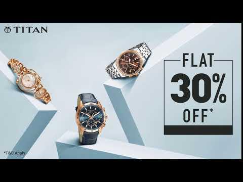 Titan Flat 30% Off Sale - July 2018